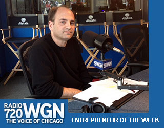 Larry Bloom with Bill Moller on WGN Radio 720