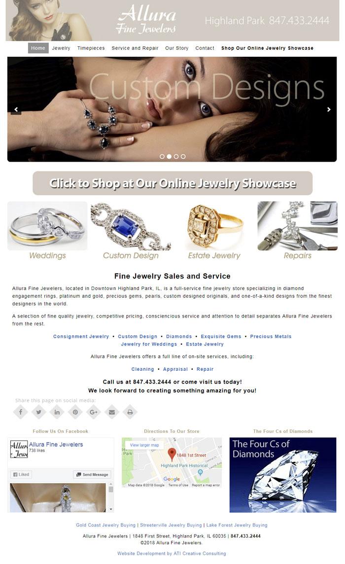 Allura Fine Jewelers | ATI Creative Consulting
