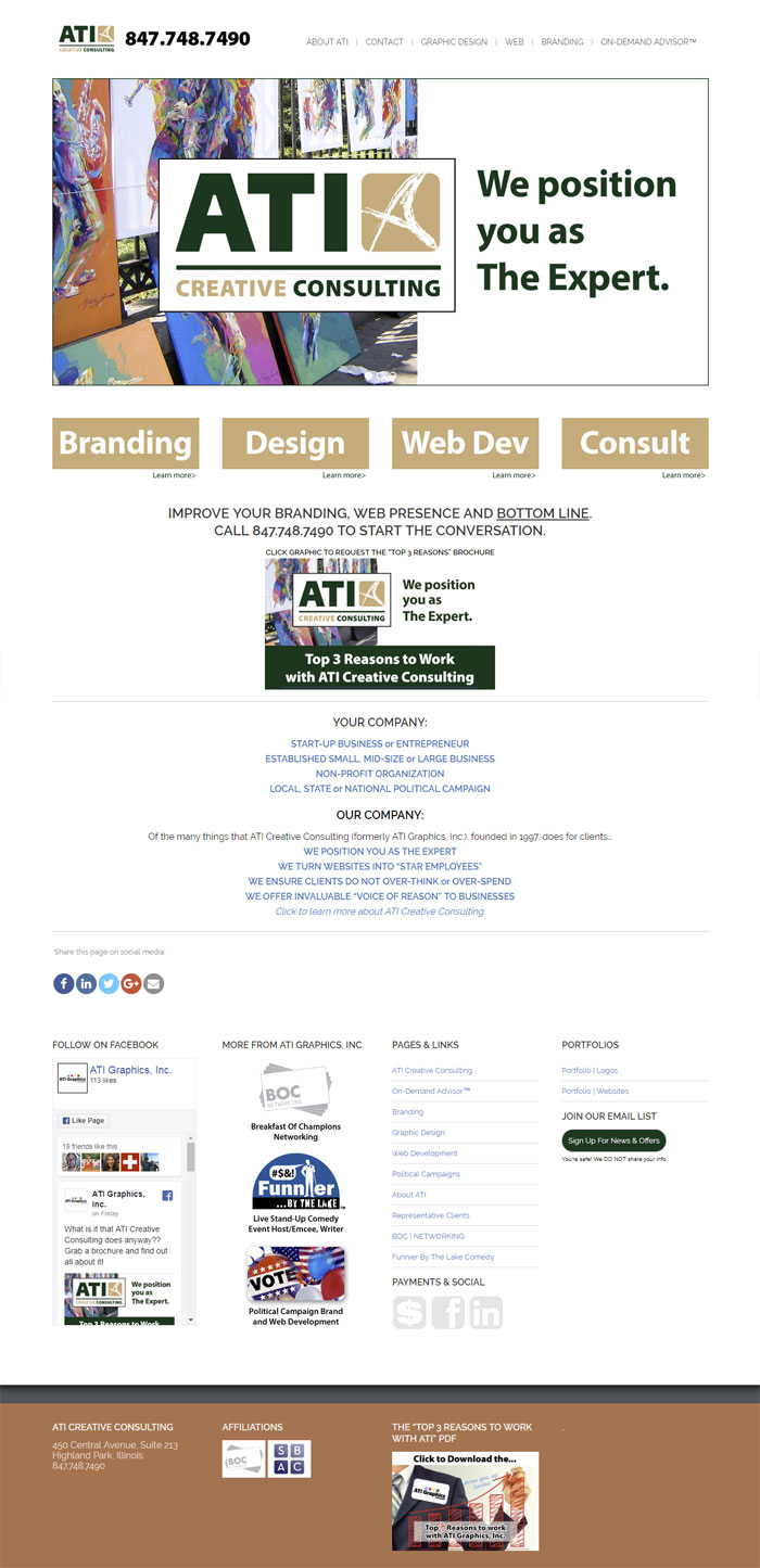 ATI Creative Consulting | ATI Graphics, Inc.