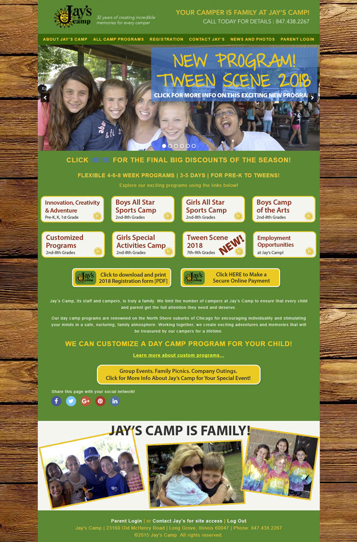 Jay's Camp | ATI Creative Consulting