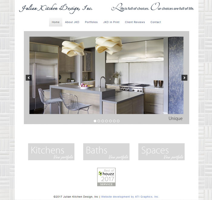 Julian Kitchen Design, Inc. | ATI Creative Consulting